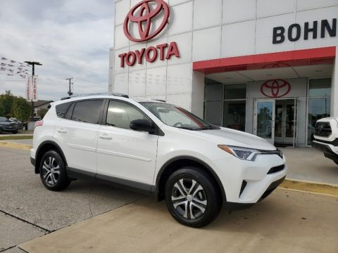 Certified Pre-Owned 2018 Toyota RAV4 LE Front Wheel Drive SUV